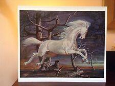 ORIGINAL RARE Tretchikoff Phantom Horse 1960s - Vintage Kitsch Art Print