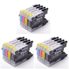 (12)Three 4pks LC75 XL Ink Cartridges - Black Cyan Yellow Magenta - Expired