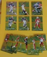 1996 PACIFIC PRO BOWL COMPLETE SET OF 20 EMMITT SMITH-SANDERS-RICE-FAVRE-YOUNG++