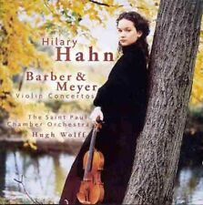 Hilary Hahn - Barber Meyer: VN Con [New CD] Germany - Import