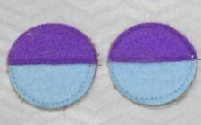 WW1   , 50th,, AIF Battalion  colour patchs =one pair