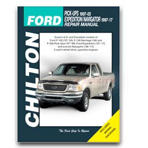 Chilton Repair Manual for 1997-1999 Ford F-250 - Shop Service Garage Book sm