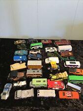 Vintage Assorted Hot Wheels, Marvel,Lot of 32 Cars Vans, Trucks,Diecast