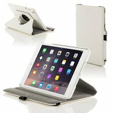 White iPad 3 360 Degree Rotational Case Stand Cover Protects From Shock Dust