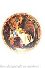 Norman Rockwell Dreaming in the Attic Plate Rediscovered Women Collection