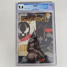 Comico Comics Grendel #2 CGC 9.4 Off White to White Pages Origin of Argent