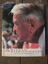 DAVID LEAN Film Book by Stephen Silverman with LEAN'S Scarce AUTOGRAPH 1st Ed.