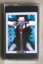 Madonna Madame X Limited Edition 2019 UK Cassette Blue Transparent &