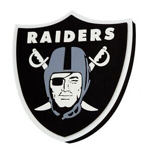 NFL Oakland Raiders 3D Foam Logo Magnet Officially Licensed