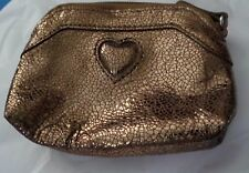 BRIGHTON VINTAGE  CHANGE PURSE GOOD PRE OWNED CONDITION GOLDTONE