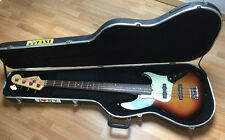 FENDER JAZZ BASS DELUXE ACTIVE  USA - (Sunburst)