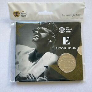 2020 UK £5 Elton John The Very Best Of Brilliant Uncirculated Coin ONLY 15,000