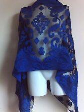 Nueva Bufanda Bufandas Chales De Boda Azul Marino Chal Pashmina Negro Envoltura Cubrir Estola