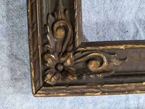 "Set 2 Pair vintage wood gesso picture frame 13""x15"" victorian (fits 10x12 pic)"