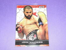 2013 Topps UFC Bloodlines JOHN MAKDESSI #97 Flag SP/188 Canada - THE BULL Karate