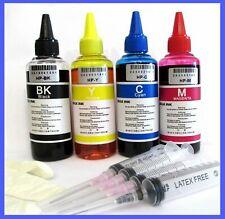 kit inchiostro ricarica cartucce stampanti hp 301 nero e 301 colore + accessori
