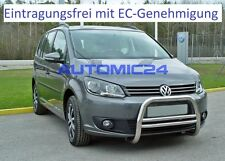 Frontbügel Bullenfänger Frontschutzbügel Rammschutz VW Caddy Touran Zulassung