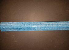 Blue Gloss Raised Traditional  Ceramic border tile 200x25x6mm Matt Finish