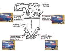 3 Capteur Lambda toyota rav4 2.0 VVTI 1 AZFE 3 Lambda capteur