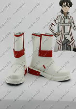 Sword Art Online Kazuto Kirito Kirigaya Cosplay Shoes Boots Knights of the Blood