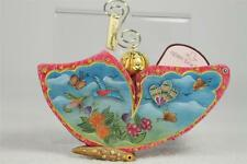 G. DeBrekht-Russian 'Butterfly Sonata' Wrapped Wishes Message  LE COA #68051 NIB