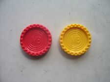 Connect 4  Game Counters  by MB 1975 99p Each!!