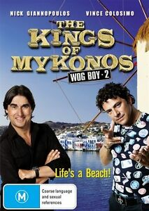 THE KINGS OF MYKONOS - WOG BOY 2  (DVD, 2010) - LIKE NEW!!!