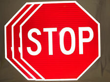 """STOP SIGN 30"""" 3M High Intensity Prismatic STOP Sign Official - 3 Pack - 3M"""