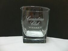Canadian Club Whisky Rocks Glass Tumbler Barware Distillery