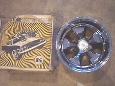 Vintage 1960s 1970s Keystone Classic NOS 15x10 mag wheel