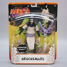 "Naruto Shonen Jump Orochimaru 7"" Figure Premium Sculpt NIB AFA 2006 Mattel"