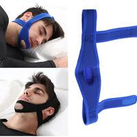 Men Anti Snore Chin Strap Stop Snoring Belt Sleep Apnea Chin Support Strap Tool