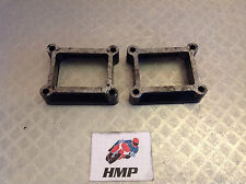 YAMAHA TZR250 1987 1KT 2MA INLET MANIFOLD SPACERS B2TZR250-09