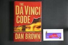 💎 The Da Vinci Code Dan Brown 1St Edition 1St Print Hardcover 2003💎
