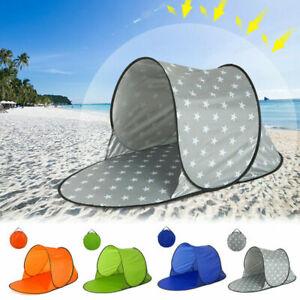Waterproof TentProtection Camping Tent Pop Up Beach Tent Shade Sun UV Shelter