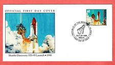 Marshall Islands; 1998 Shuttle Discovery STS-95 Launch Space FDC