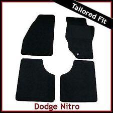 DODGE NITRO 2007-2012 Tailored Carpet Car Floor Mats BLACK