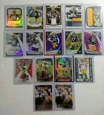 Green Bay Packers 16 Card Lot Autos Game Used Serial # Rookie Mint Rodgers Adams