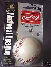 New 1989-94 ONL Major League Rawlings Baseball Wm. White in Original Retail Pack