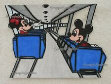 DISNEY PEOPLE MOVER RIDE - Scrapbook Page Printed Paper Piece - SSFFDeb