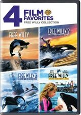 4 Film Favorites: Free Willy Collection [New DVD] Full Frame, Widescreen, Eco