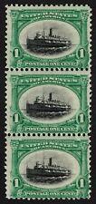 Us Sc# 294 *Mint Og Nh* { Strip Of 3 Pan-American } Fast Lake Navigation Of 1901