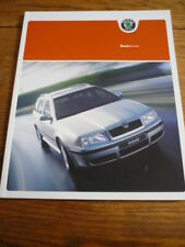 SKODA OCTAVIA BROCHURE FEB 2004