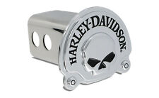 Harley Davidson 3D Skull Trailer Tow Hitch Cover Plug Receiver