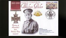Australian Anzac Victoria Cross 100th Anniv Cov, L/C Walter Peeler