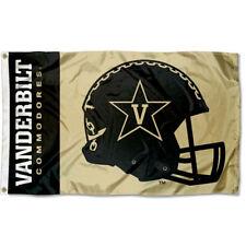 Vanderbilt Commodores Football Helmet Flag Large 3x5