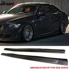 07-10 BMW E92 2Dr M-Tech M Sport Only DP Style Side Skirts Carbon Fiber CF