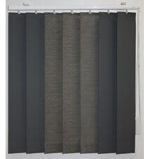 Vertikalanlage Design Lamellenvorhang grau gemustert B/H 125 x 100 cm Montrey