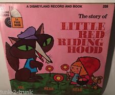 The Story of Little Red Riding Hood- A Disneyland Record and Book (1968 - 33RPM)