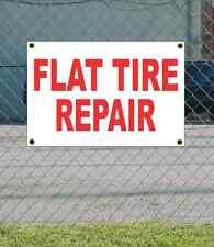 2x3 FLAT TIRE REPAIR Red & White Banner Sign NEW Discount Size & Price FREE SHIP